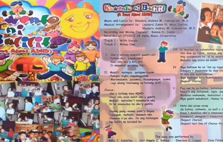 """""""Kwento ni Bulilit"""" (A Song about ADHD) – A PSCAP Presentation"""